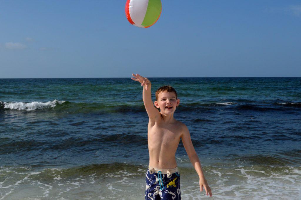 Grady Haddox Beach Ball